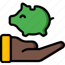 economical, financial, growth, money, profit, savings icon