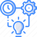 business, cycle, economical, financial, growth, money, profit icon
