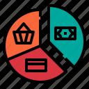 business, chart, economy, pie, statistics