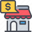 ecommerce, payment, shop, shopping, store icon