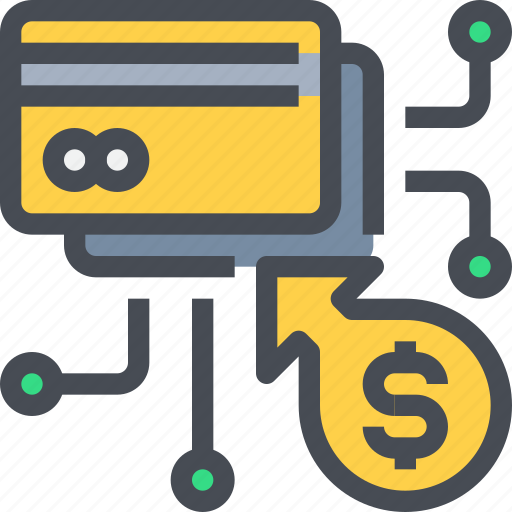 banking, card, credit, network, online, payment icon