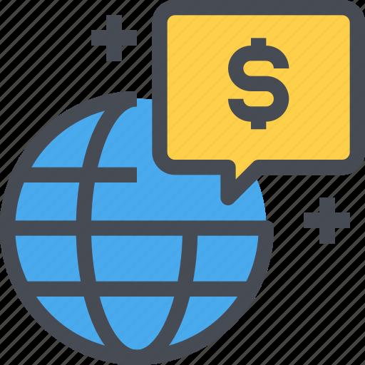 business, economy, finance, global, internet, network icon