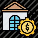 bankrupt, bomb, deficit, finance, risk icon