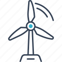 bio, blower, ecotourism icon