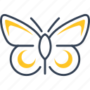 animal, bio, butterfly, ecotourism icon