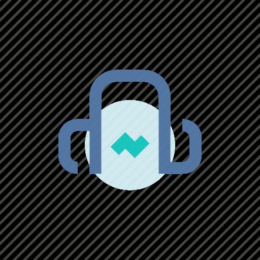 headphone, listening, music, play, playlist, songs, store icon