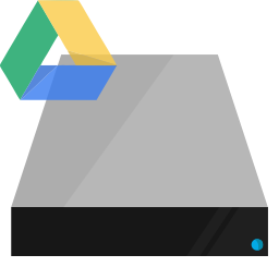 drive, google, hardware, shading icon