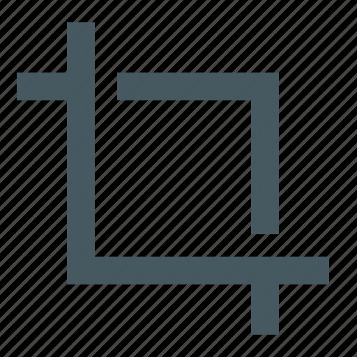 crop, edit, editing, gizmo, simple icon