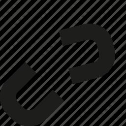 broken, link icon