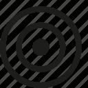 bulls, eye, target icon
