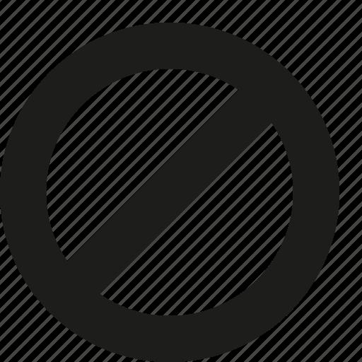 Denied, delete icon - Download on Iconfinder on Iconfinder