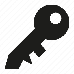 key, secure icon