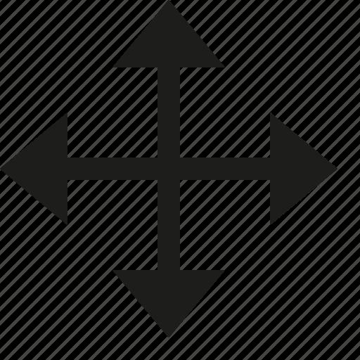 direction, move icon