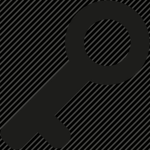 key, locked, old, secure icon