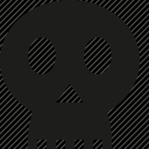 death, skull icon