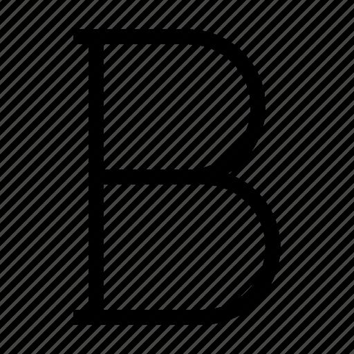 bold, edit, editor, sign, text icon