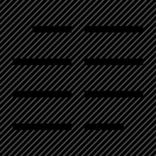 colunm, edit, editor, sign, text icon