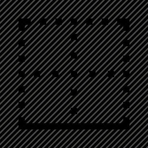 border, bottom, edit, editor, text icon
