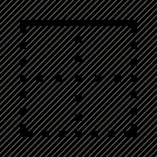 border, edit, editor, text, to icon