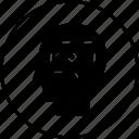 head, human, mind, thinking icon