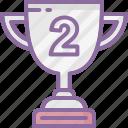 achievement, award, champion, prize, success, trophy icon