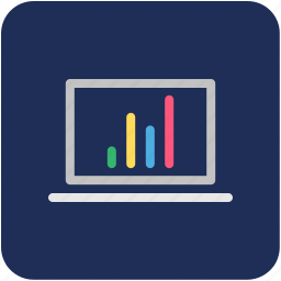bar chart, diagram, online analytics, online graphs, online infographics icon