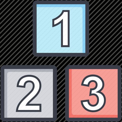 abc cubes, childhood, educational blocks, play blocks, preplay group icon