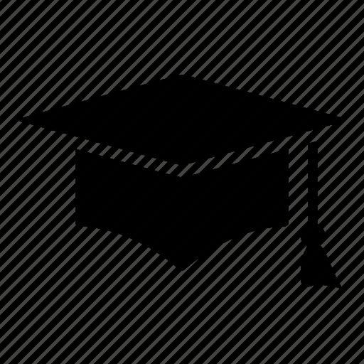 cap, diploma, education, graduation, student icon