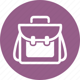 backpack, education, travel bag icon