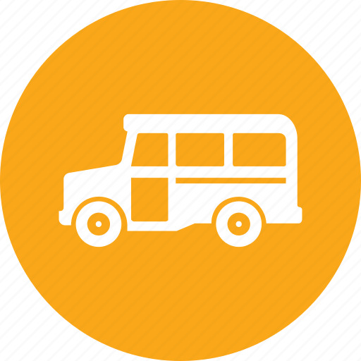 education, school bus, transportation, vehicle icon