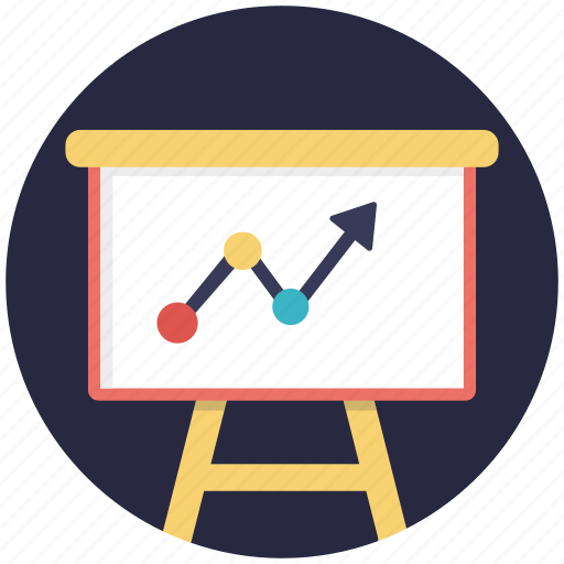 business analysis, economic, finance, presentation, statistics icon