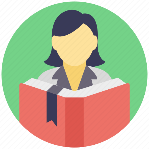 education, knowledge, reading, student, study icon