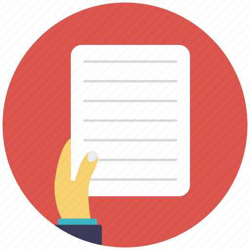 document, file, notepad, notes, record icon