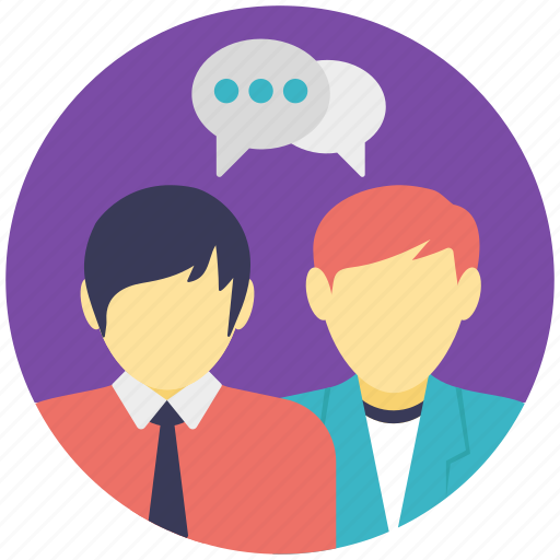 chat, conversation, discussion, gossip, talk icon