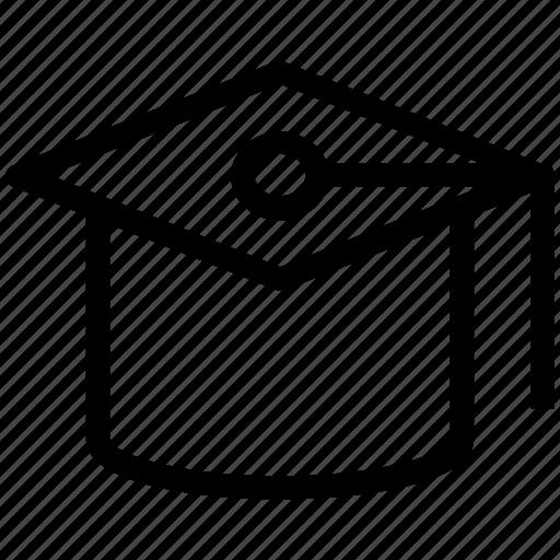 bachelor, education symbol, graduation, graduation cap, graduation hat, mortarboard icon
