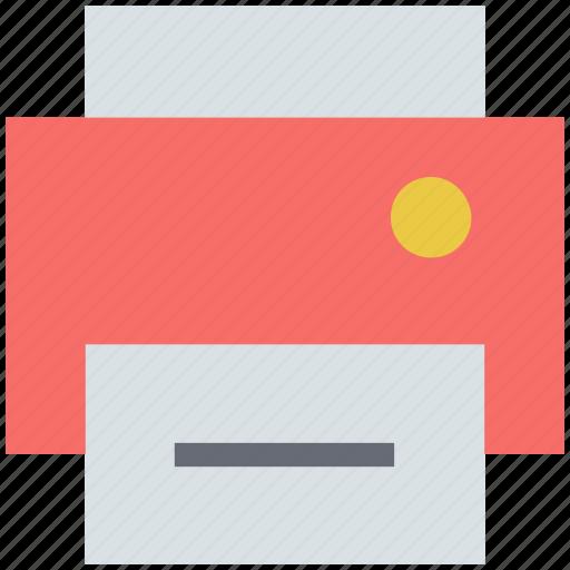 electronics, inkjet printer, office equipment, printer, printing machine icon
