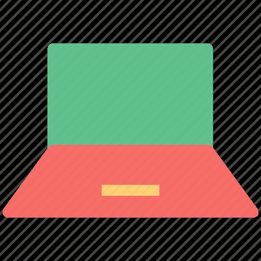 laptop, laptop pc, macbook, mini computer, notebook icon