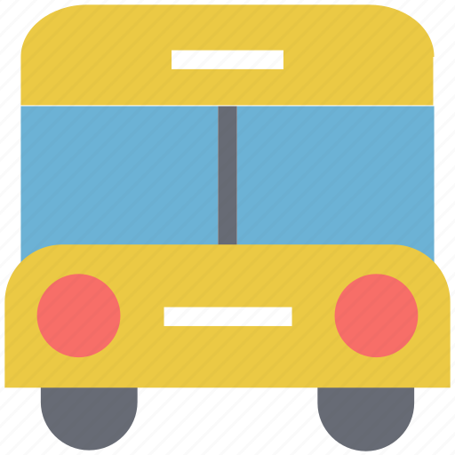 bus, public bus, school bus, transport, travel, vehicle icon