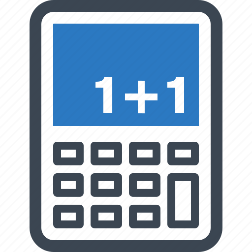 calculator, education, math icon
