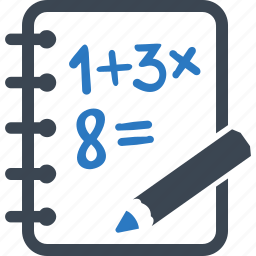 calculate, education, math icon