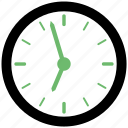 clock, deadline, morning, time, wait, wall clock icon