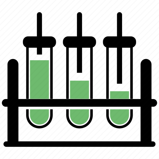 clinical analysis, laboratory, tubes icon