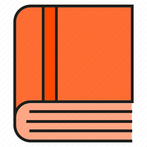 book, notebook, read icon
