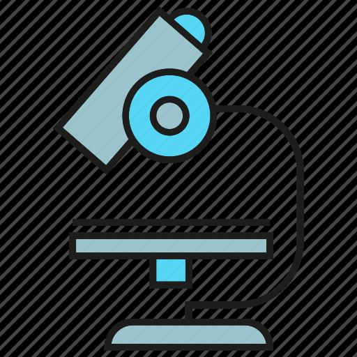 equipment, lab, microscope, science icon