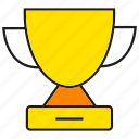 award, cup, prize, reward, trophy, winner icon