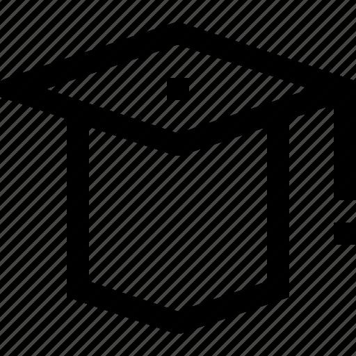 collage, graduation, hat, school, student, university icon