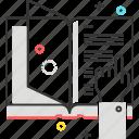 book, hand, learn, study, teach, tutorial icon