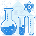 chemistry, education, lab, laboratory icon