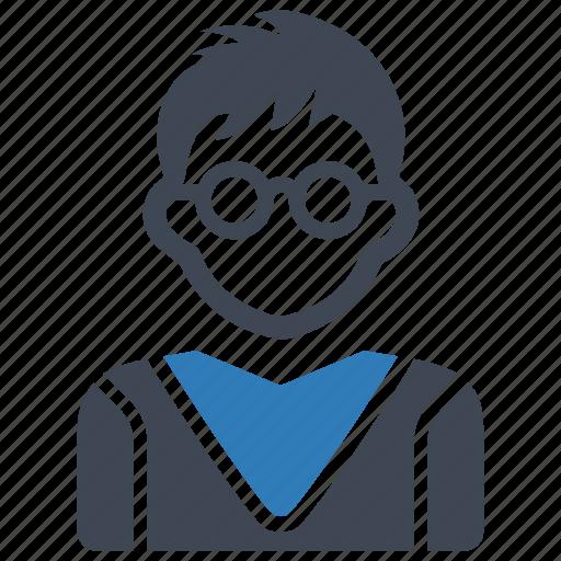 boy, school, student icon