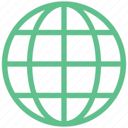 earth, global, globe, planet, world map icon